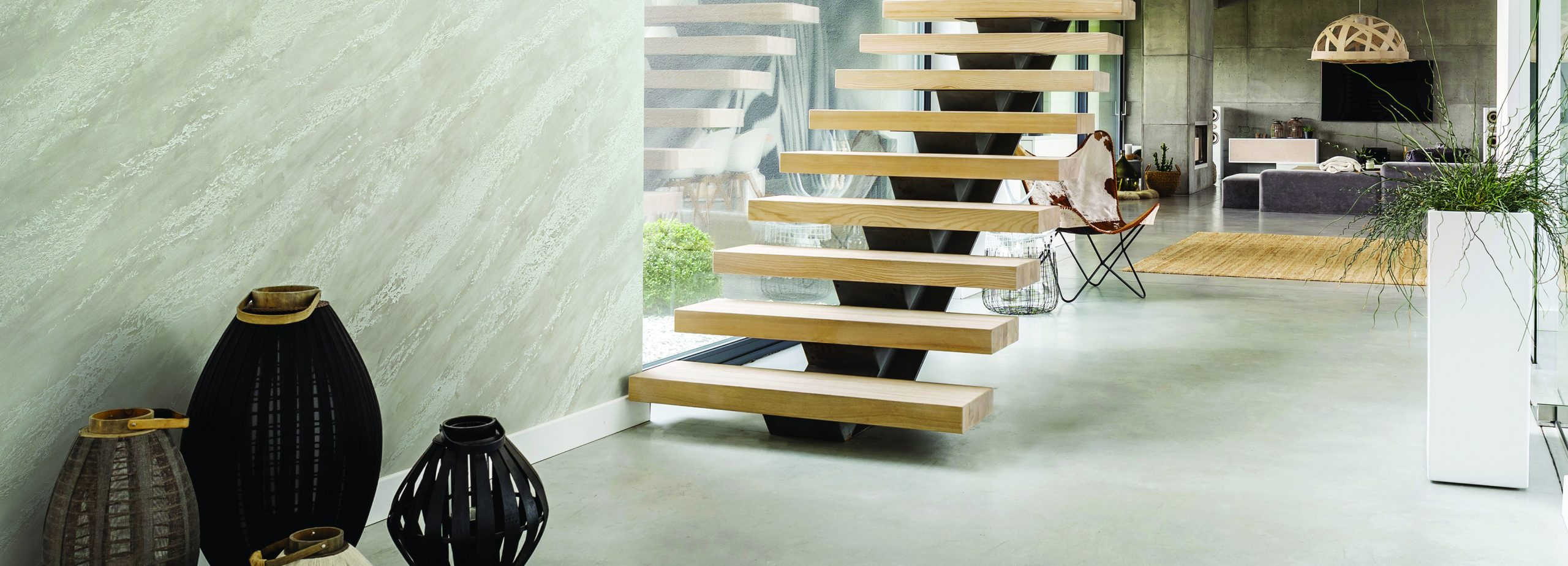 Stairs in the hallway